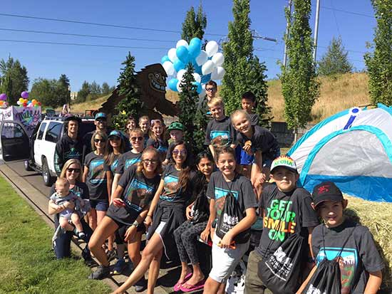 Parade photo by Senestraro Family Orthodontics.
